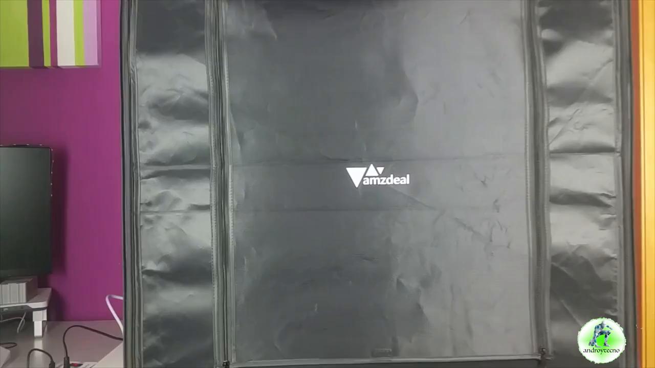 Amzdeal Caja de Luz Fotografia 80 x 80 x 80cm Kit Caja de ...