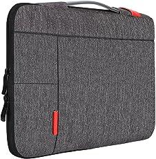 """iCozzier 13-13,3 Zoll Laptoptasche mit Griff Tragbare Laptoptasche Sleeve Hülle Schutztasche für 13"""" MacBook Air/MacBook Pro/Pro Retina Sleeve – Dunkelgrau"""