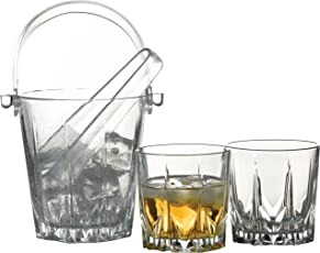 Pasabahce Karat Whisky Set of 6 Glasses & 1 Ice Bucket