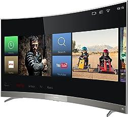 Thomson Curved Fernseher (49UD6596) 124,5 cm (49 Zoll) Smart TV (4K UHD, 4K HDR, Triple Tuner) Schwarz