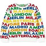 United Colors of Benetton Maglia G/C M/L Suéter para Niñas