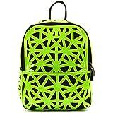 Obvie Rucksack mit geometrischem Muster, für Damen und Mädchen (Grün)
