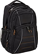 AmazonBasics Laptop Backpack - Fits Up To 17-Inch Laptops