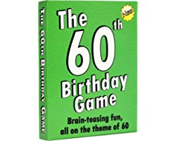 The 60th Birthday Game: a fun gift or present specially for people turning sixty. Also works as an amusing little 60th party