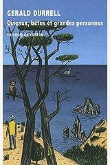 Oiseaux, bêtes et grandes personnes (HORS COLL LTR) Format Kindle