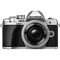 Olympus OM-D E-M10 Mark III Systemkamera (16 MP, 5-Achsen Bildstabi., elektr. Sucher, 4k, WLAN) Kit + 14-42mm EZ silber