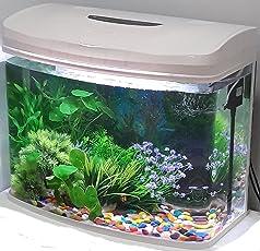 RS Moulded Glass Aquarium, 70L(Black)