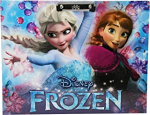 HMI Licensed Disney & Marvel Characters Drawing Clip Board Exam Board, A3 Size (Frozen Sis)