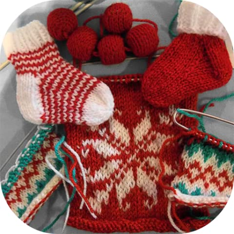 Knitting Unique Christmas Designs - Kindle Edition (How To Knit Scarves, Hats, Socks, Gifts, Gloves & Many More Designs) - Design Patterns Knitting