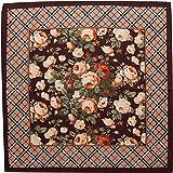 tessago foulard dis 927414 lana 100% misura cm 90 X 90 var moro