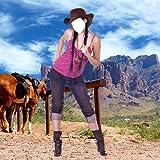 Cowboy Foto Kleider