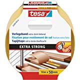 tesa Flooring Tape Extra Strong Hold, 10m x 50mm, geel
