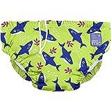 Bambino Mio SWPM SHA Costumino Contenitivo Mutande Contenitive da Nuoto, 6 - 12 Mesi, Multicolore (Squalo Fluorescente)