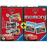 Ravensburger - 7227 - Boîte de 3 Puzzles + Memory Cars