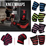 Xtrim Dura fit-Knee wrap -competion Grade-Pack of2-Polyester Knee Support for All Sports Activities.Length 2 Meters(78…