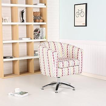 Premium Twist Badewanne Stoff Drehstuhl Sessel Esszimmer Wohnzimmer Büro