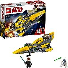 LEGO Star Wars Anakin's Jedi Starfighter (75214), Star Wars Spielzeug