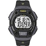 Timex Montre à Quartz Unisexe avec Cadran LCD à Affichage numérique et Bracelet en résine Noire