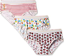 Disney Minnie Mouse Girls' Panty (Pack of 3)