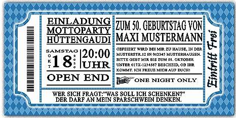 Einladungskarten Geburtstag Oktoberfest 10 Stück Bayrisch Bayrischen  Bayerrisch Hüttengaudi Bier Geburtstagseinladungen: Amazon.de: Bürobedarf U0026  ...