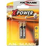 ANSMANN 1,5V Alkaline AAAA Batterie (speciale dimensione AAAA/LR61) Batterie per Stylus Surface Pro/Dell Venue Pro Tablet/col