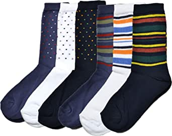 Fontana Calze, 6 paia di calze corte bambino ragazzo in caldo cotone elasticizzato. Prodotto Italiano