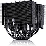 Noctua NH-D15S chromax.black, Premium CPU-Kylare med Dubbla Torn och NF-A15 PWM 140mm Fläkt (Svart)