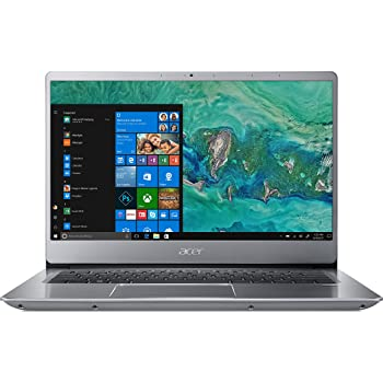 "Acer Swift 3 SF314-54-8918 Notebook con Processore Intel Core i7-8550U, RAM da 8 GB DDR4, 256 GB SSD, Display da 14"" FHD, Silver"