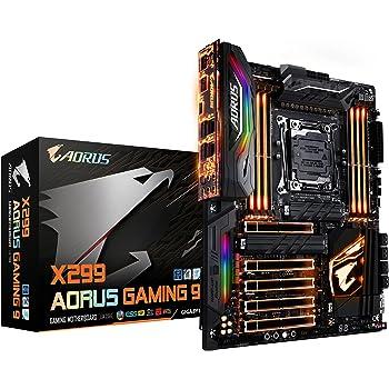 Gigabyte X299 AORUS Gaming 9, 3 Way SLI Motherboard