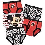 Disney Biancheria Intima delle Ragazzi Mickey Mouse Confezione da 5