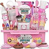 Original Stationery Mini Ice Cream Slime Kit Fluffy -Slime para Niñas, Niños 7 a 12 Fabrica de Slime Fluffy Edición Heladería