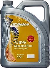 ACDelco A19280073 15W-40 API SL Supreme Plus Engine Oil (3.5 L)