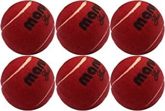HRS Maruti Gold Heavy Weight Cricket Tennis Ball - Maroon