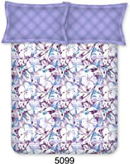 Bombay Dyeing Breeze Collection Flat Double Bedsheet, Lavender, 224 X 254cm, 5099 B