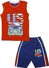 Little Hub Boys' Cotton Clothing Set