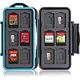 Boîte de Protection pour Carte mémoire pour 12 Jeux Nintendo Switch • Étui pour Carte mémoire • Sac de Voyage • Étui de Prote