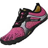 SAGUARO Water Shoes Mens Womens Minimalist Barefoot Shoes Trail Running Shoes Rock Climbing Shoes for Fitness Trainers Walkin