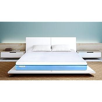 Wink & Nod 7-inch Cool Gel Memory Foam Mattress, 72x72 Inches (White)