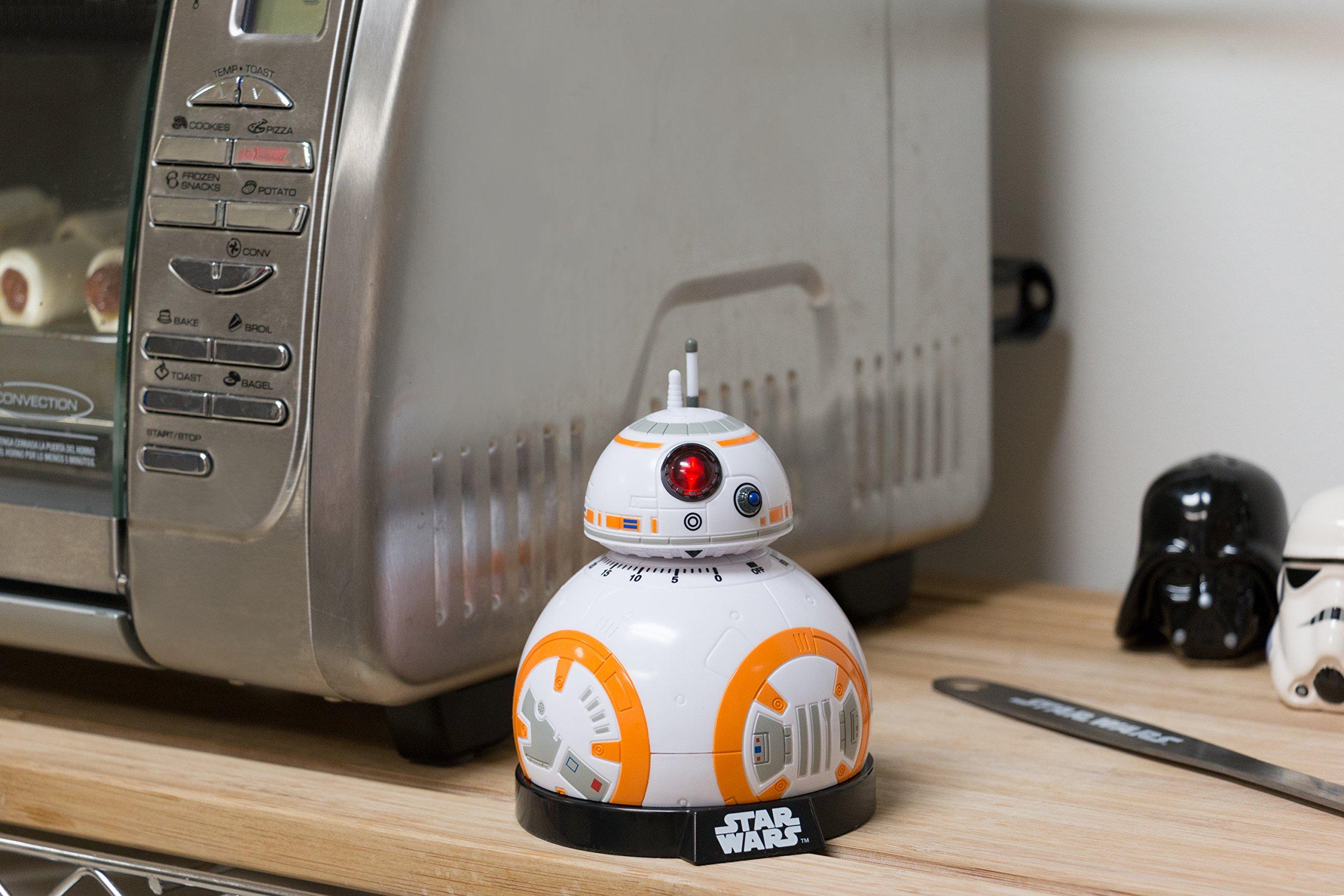 91lRmdRt2ZL - Star wars Epvii: SW02722 Kitchen Timer: Bb-8 (Light And Sound), Orange/white