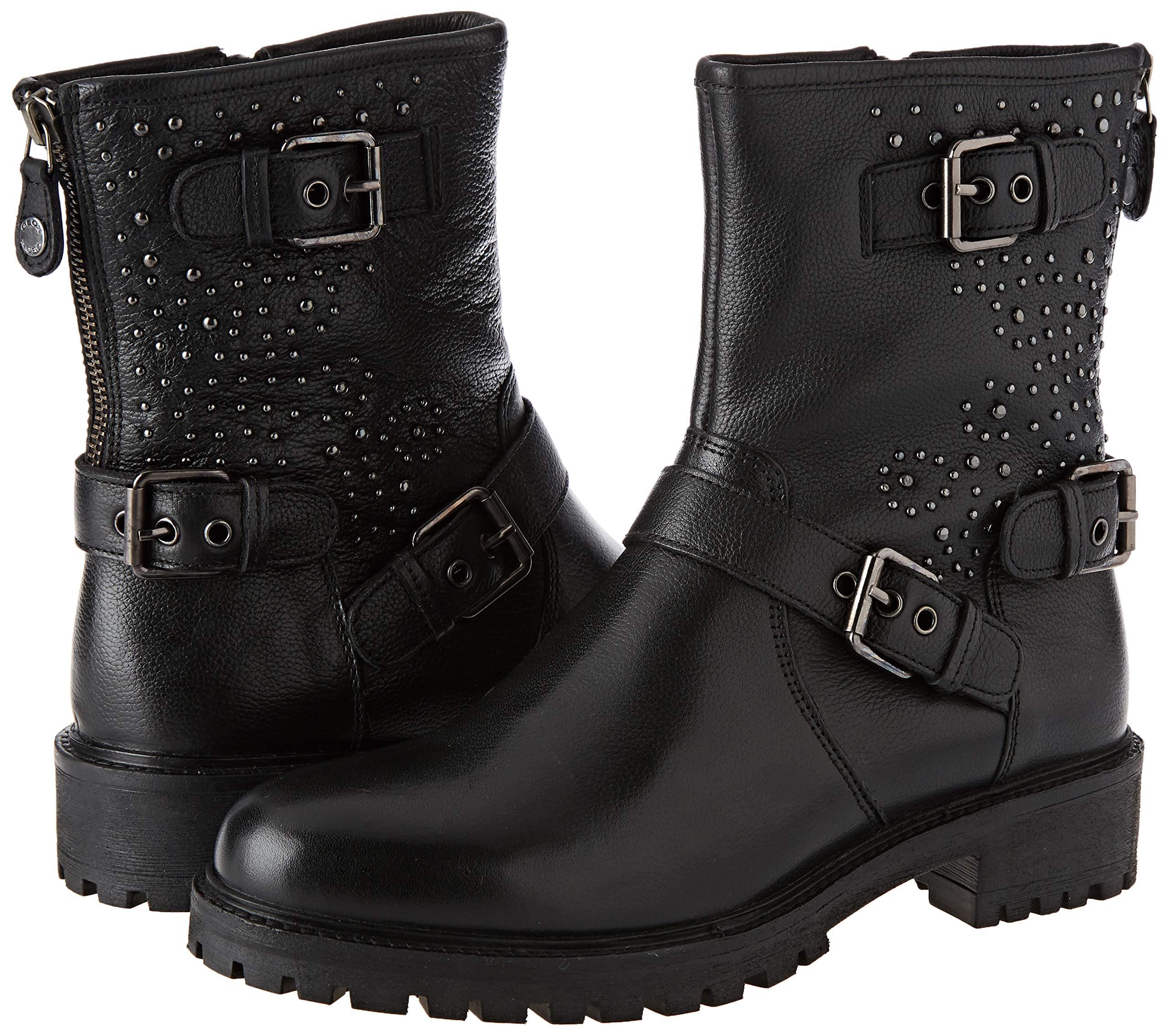 Geox Damen D Hoara H Biker Boots 5