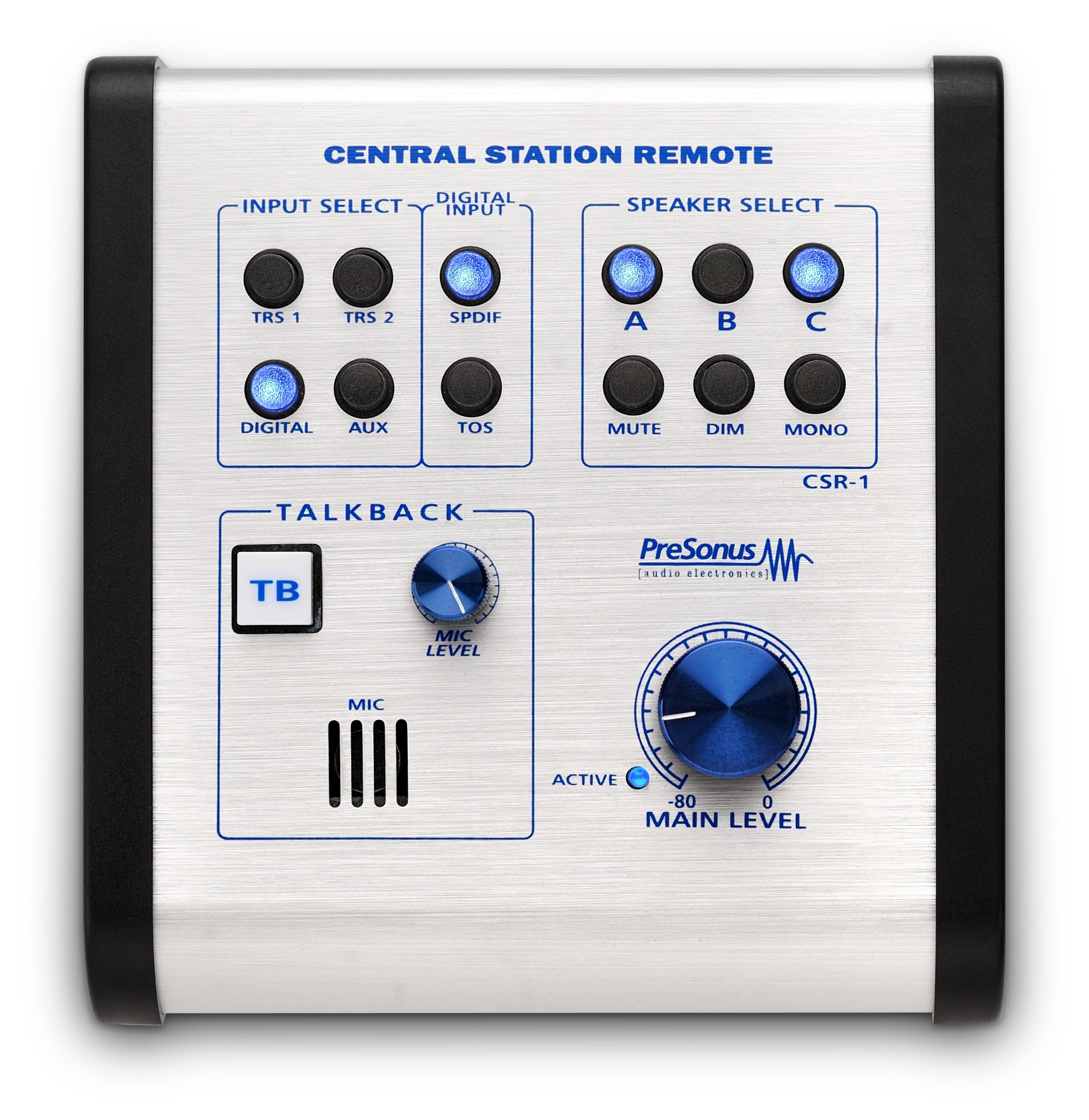 91lTyqiS%2BOL - PreSonus Central Station PLUS: Studio Control Center with Remote Control