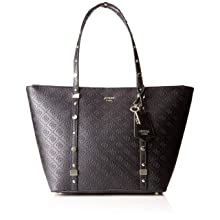 Guess Damen to Coast Tote, Schwarz (Black/Bla), 46x28x12.5 centimeters