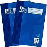 Oxford - Cuaderno (A4, a rayas), color azul Formato A4