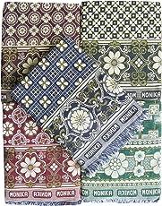 Textilekart Cotton Solapur Blanket (86x55-inches, Multicolour)