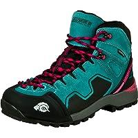 Guggen Mountain PM021 Donne Trekking-& Scarpe da Escursione Pelle di Camoscio