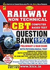 Railway Non Technical CBT Computer Based Test Questions Bank 1997 Till Date Preliminary Exam and Main Exam with Psychological Test English - 2047