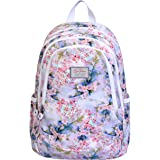 Lino Perros Women Multi Colored Floral Print Backpack