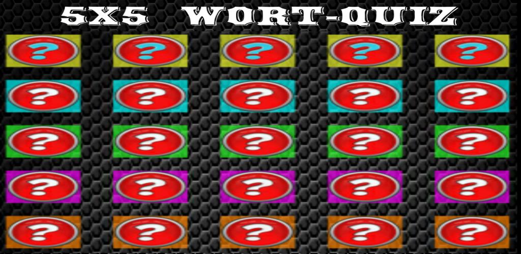Zoom IMG-1 5x5 word quiz