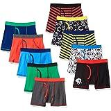 Spotted Zebra Cotton Boxer Briefs Underwear Niños, Pack de 10