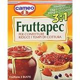 Cameo Fruttapec 3:1 per Confetture, 2 Bustine, 90g